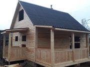 Строительство Домов,  срубов бань,  летних домиков. Молодечно