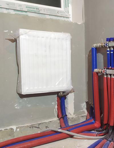 Монтаж радиаторов отопления  - main