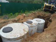 Монтаж канализации,  септиков,  очистных сооружений - foto 0