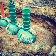 Монтаж канализации,  септиков,  очистных сооружений - foto 3