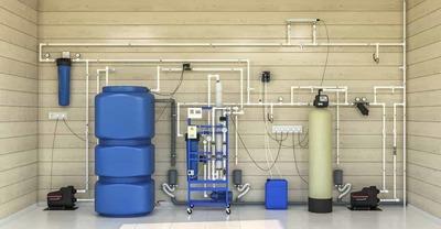 Монтаж системы водоснабжения и водоподготовки - main