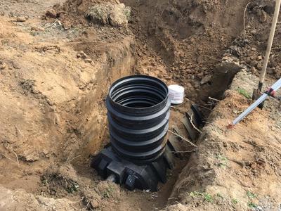 Монтаж канализации,  септиков,  очистных сооружений - main